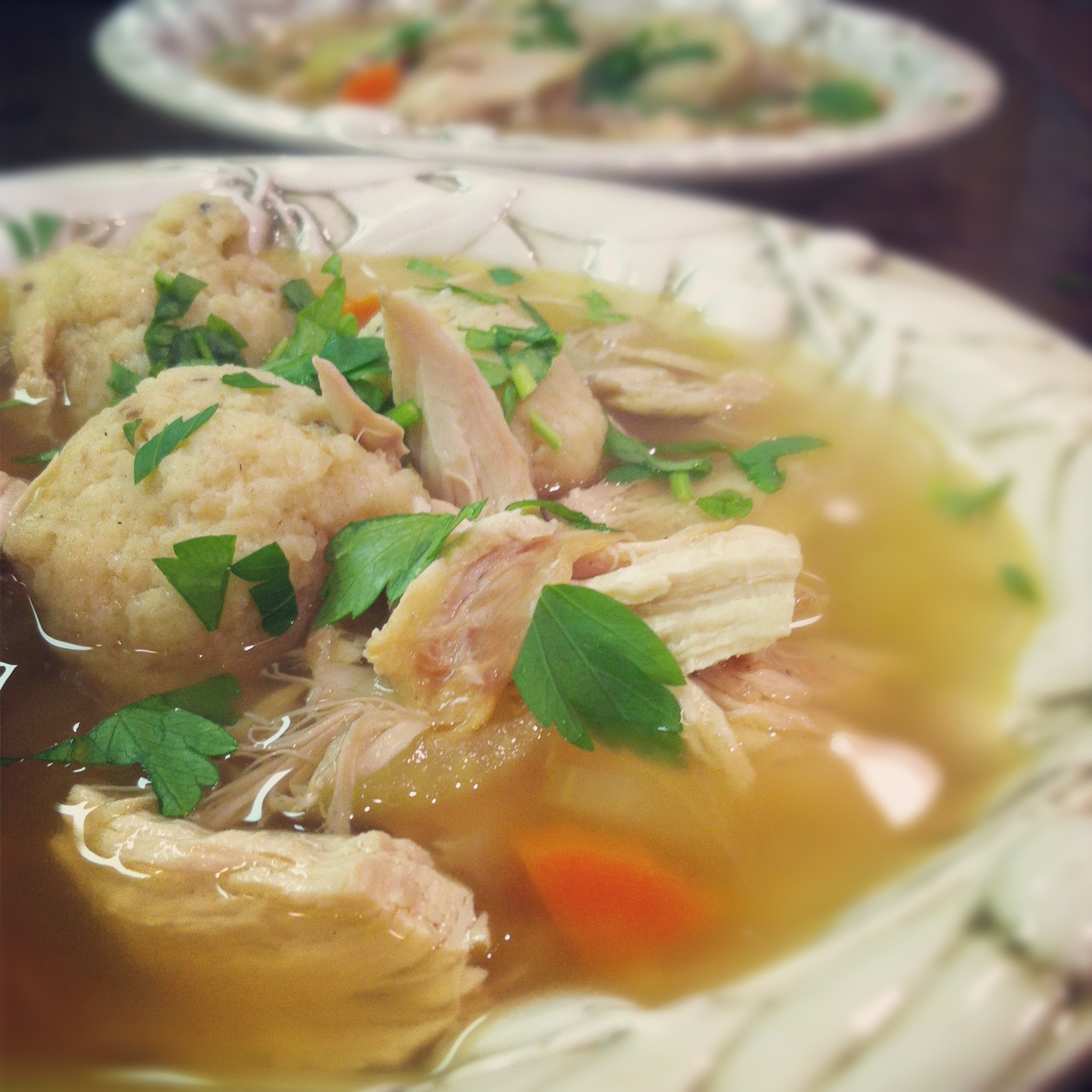 Simple And Heartfelt Matzo Ball Soup Persephone S Kitchen